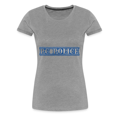 PC Police Logo - Women's Premium T-Shirt