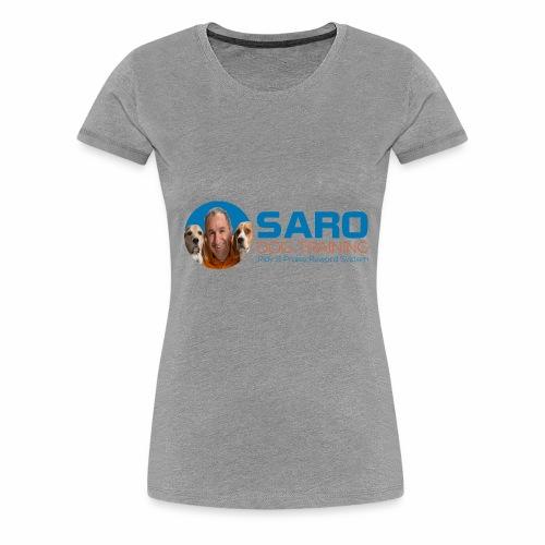 Saro Dog TrainingLogo - Women's Premium T-Shirt