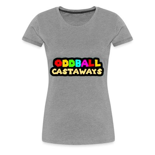 Oddball Castaways logo - Women's Premium T-Shirt