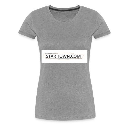 STAR TOWN - Women's Premium T-Shirt