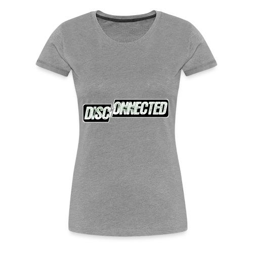 Disconnected - Women's Premium T-Shirt