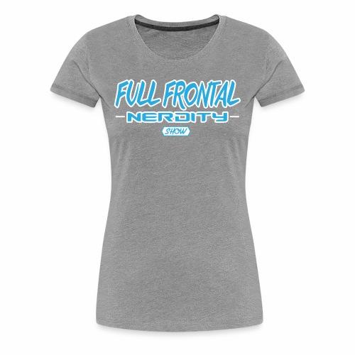 Full Frontal Logo Only - Women's Premium T-Shirt