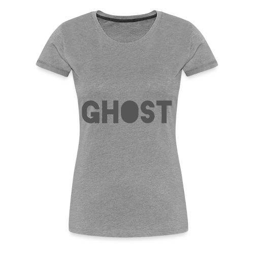 Ghost Clothing - Ghost Text Logo Merch - Women's Premium T-Shirt