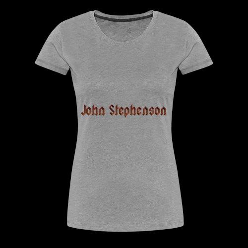 John Stephenson - Women's Premium T-Shirt