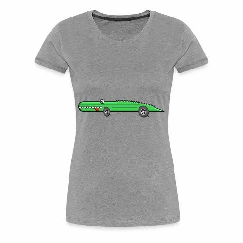 Racing Croco - Women's Premium T-Shirt