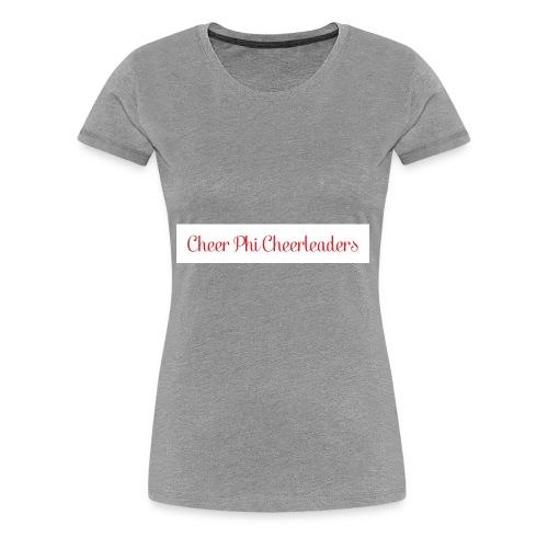 Cheer Phi Cheerleaders - Women's Premium T-Shirt
