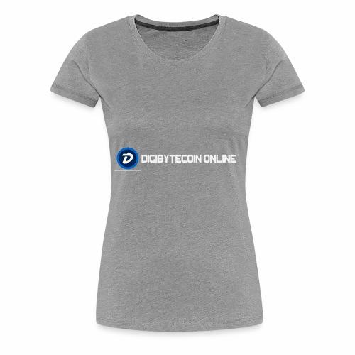 Digibyte online light - Women's Premium T-Shirt