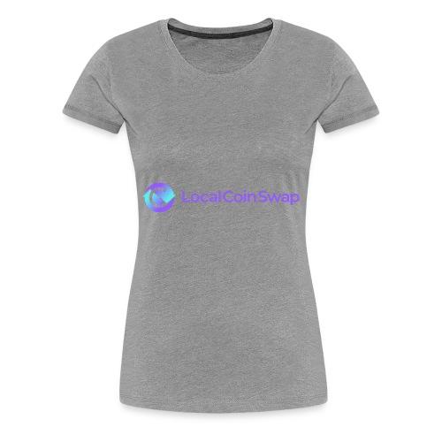 Logo white bg - Women's Premium T-Shirt