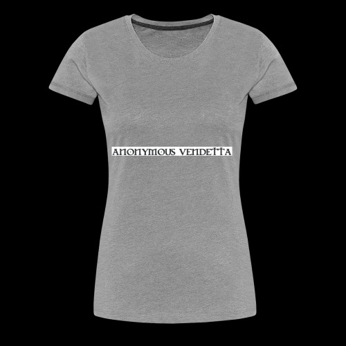 Anonymous Vendetta - Women's Premium T-Shirt
