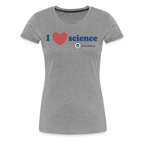 iheartscience - Women's Premium T-Shirt