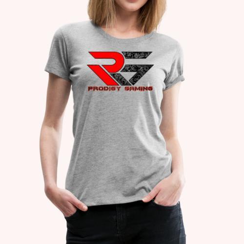 PRODIGY GAMING: RED Bandanna - Women's Premium T-Shirt
