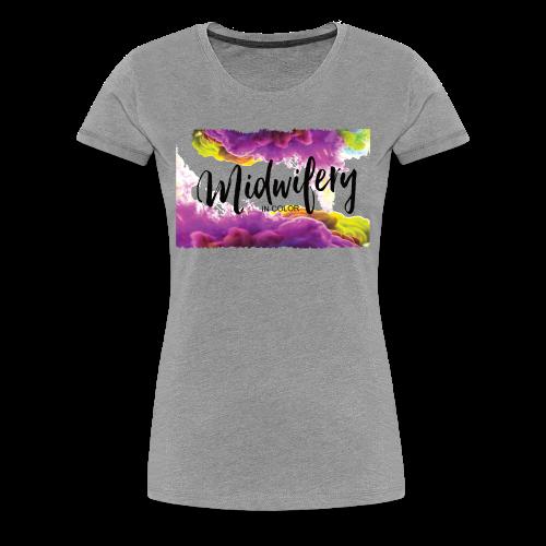 MIC Color Cloud Transparent - Women's Premium T-Shirt