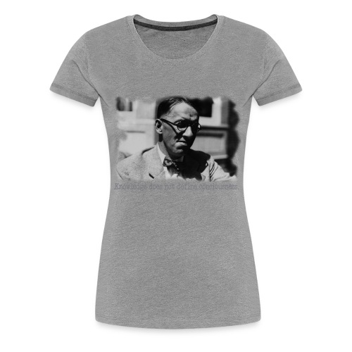 Knowledge & Consciousness - Women's Premium T-Shirt