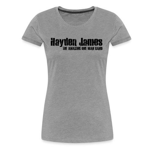 HJ Trans Logo Black 2018 - Women's Premium T-Shirt