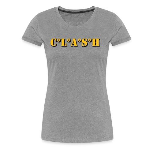Clash Mash - Women's Premium T-Shirt