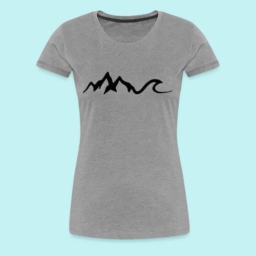 Mount Wave - Women's Premium T-Shirt
