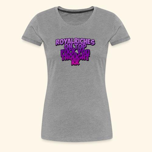 rrontop - Women's Premium T-Shirt