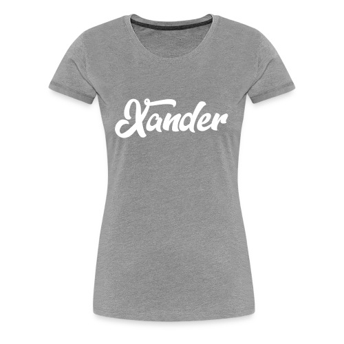 Xander Logo 1 - Women's Premium T-Shirt
