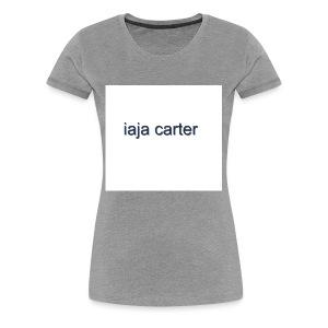 iaja carter - Women's Premium T-Shirt