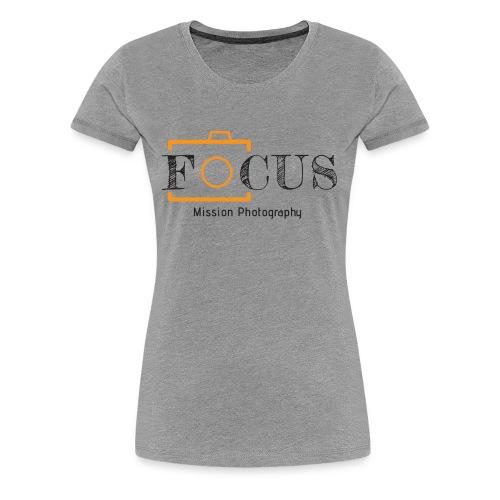 12x7 Focus Black - Women's Premium T-Shirt