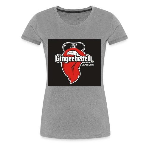 Gingerbeard - Women's Premium T-Shirt