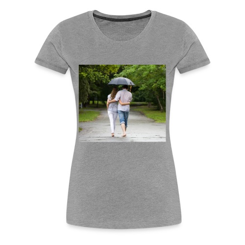 love couple 746 - Women's Premium T-Shirt