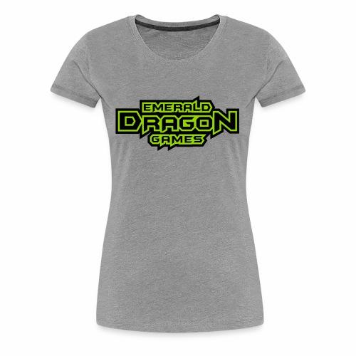 Emerald Dragon Games - Women's Premium T-Shirt