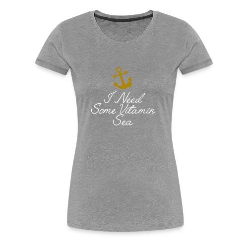 Summer Shirt Nautical Humour Logo - Women's Premium T-Shirt