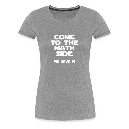 The Math Logo Humour Funny - Women's Premium T-Shirt