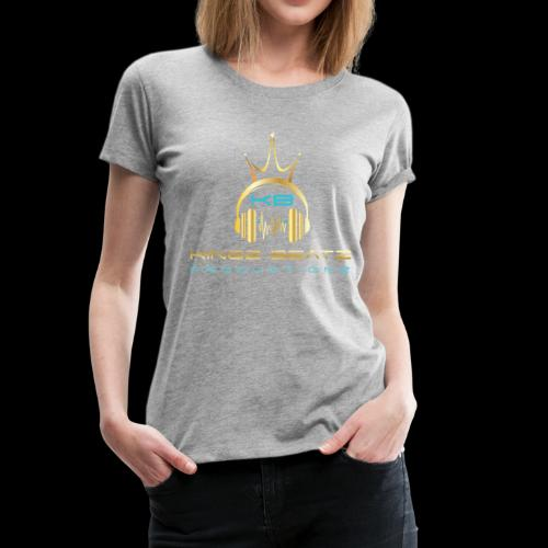 Official Kingz Beatz Productionz LLC Logo - Women's Premium T-Shirt