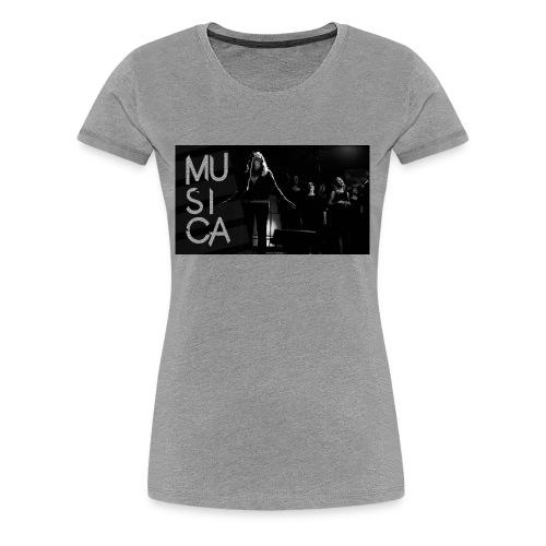 woman leading2 - Women's Premium T-Shirt