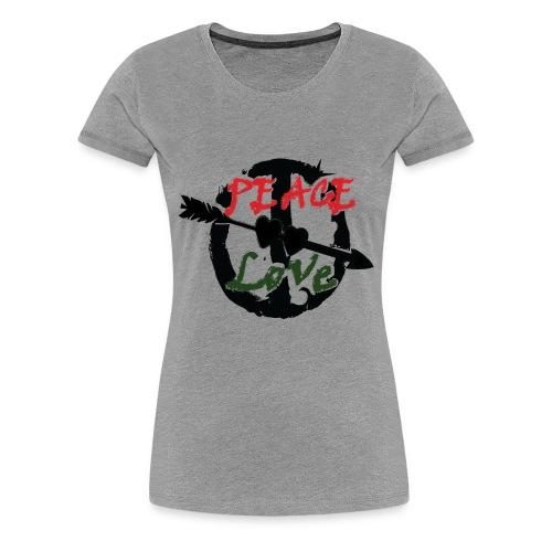 Peace and love t-shirt - Women's Premium T-Shirt