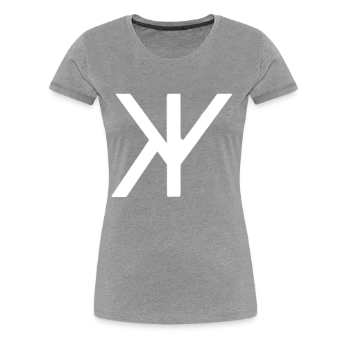Classic Logo [White Variant] - Women's Premium T-Shirt