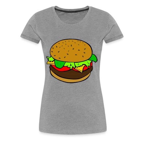 hamburger - Women's Premium T-Shirt