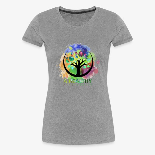 A Healthy Alternative Watercolor ALT - Women's Premium T-Shirt