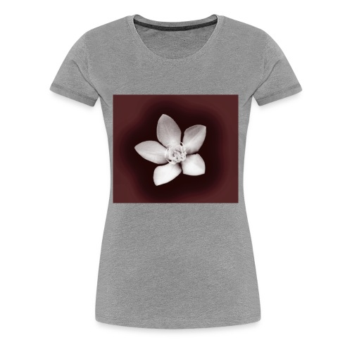 Beautiful Flower Design - Women's Premium T-Shirt