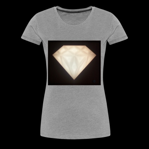 Glowing Diamond - Women's Premium T-Shirt