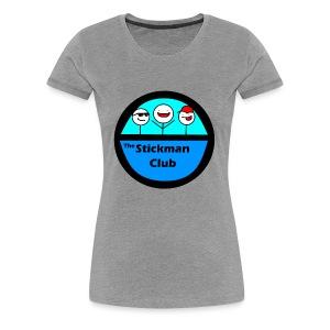 Stickman Club Logo - Women's Premium T-Shirt