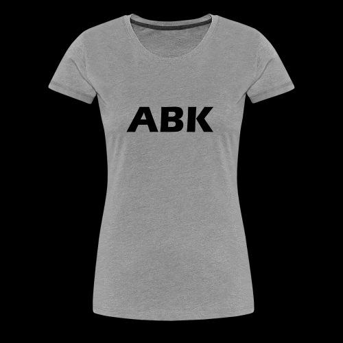 ABK Black - Women's Premium T-Shirt