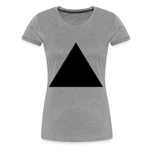 SIIKALINE TRIANGLE UP - Women's Premium T-Shirt