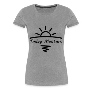 Today Matters Logo - Black - Women's Premium T-Shirt