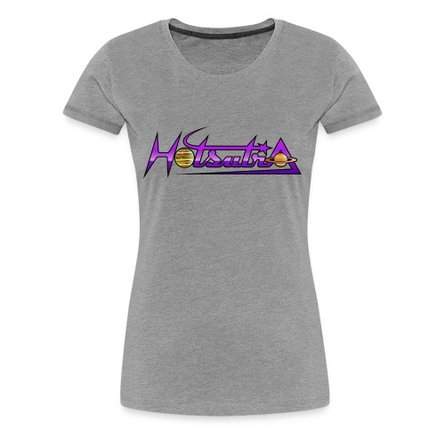 HotSutra logo - Women's Premium T-Shirt