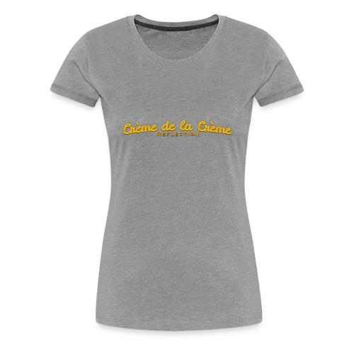 cr--me_de_la_cr--me_logo - Women's Premium T-Shirt