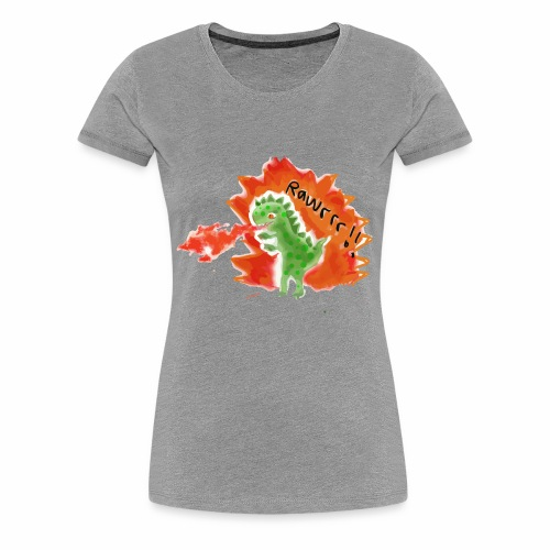 Rawrrr! Dinosaurs - Women's Premium T-Shirt