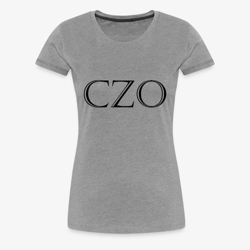 CoverZero CZO StoneScript - Women's Premium T-Shirt