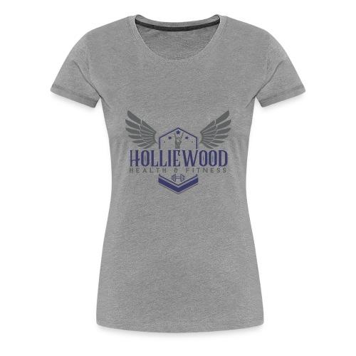 HollieWood Health & Fitness - Women's Premium T-Shirt
