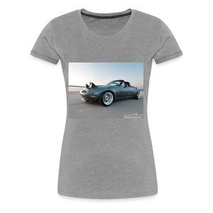 modp 1204 06 1990 mazda mx5 miata full view - Women's Premium T-Shirt