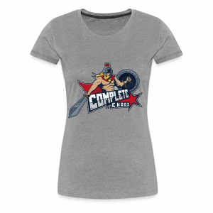 Complete Chaos - Red - Women's Premium T-Shirt