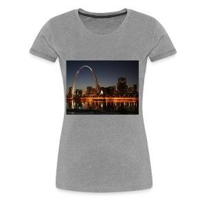 St Louis Arch - Women's Premium T-Shirt