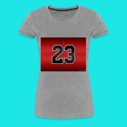 Jordan_Bulls_Jersey - Women's Premium T-Shirt